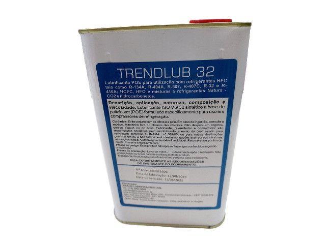 Óleo Sintético Para Refrigeração Trendlub Poliolester Iso32 1 litro - Foto 2