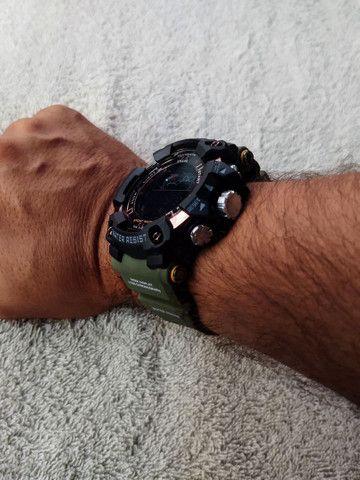 Relógio Smael Sport Militar Verde