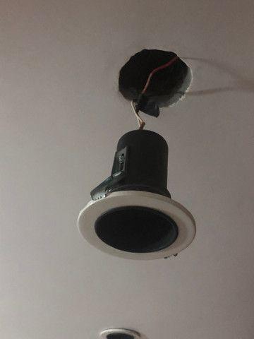 Lote com 16 Soquete para lâmpada de embutir