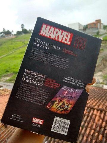 Kit Vingadores motim e Vingadores todos querem dominar o mundo - Foto 6