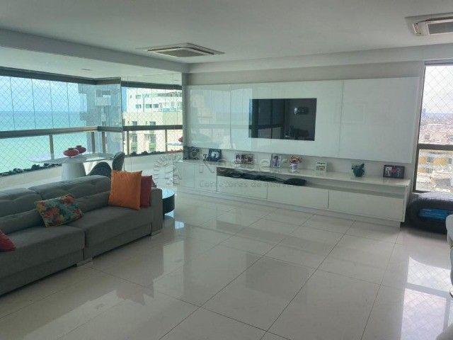 Hh1319  Setubal, apto 174m, 4 quartos, 3 suites,  3 vagas, 16´andar, $7300 tudo incluso - Foto 3