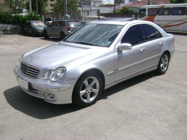 Mercedes Benz C 320 Avantgarde V6 Top de Linha 2005 Teto Solar Abaixo da Fipe C320