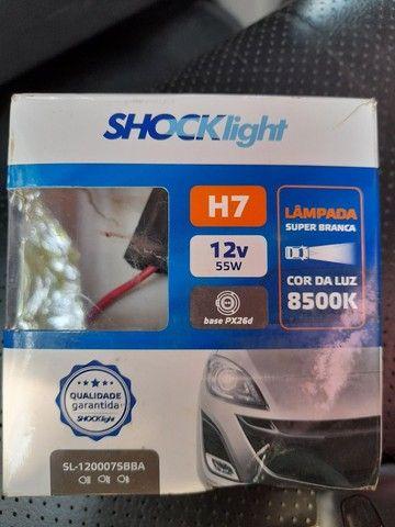 Lampadas H7 super Branca - Foto 2