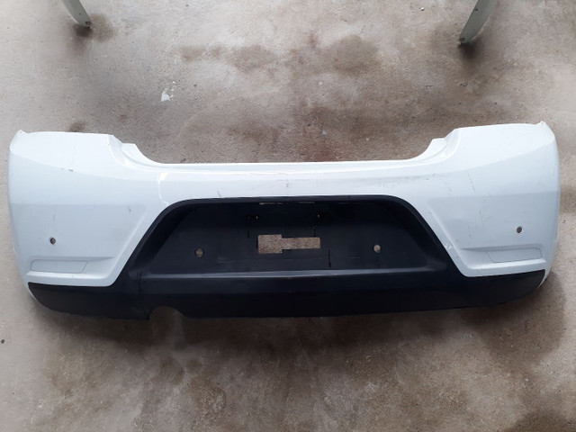 Parachoque Traseiro Chevrolet Onix 2018/2019 Usado Original