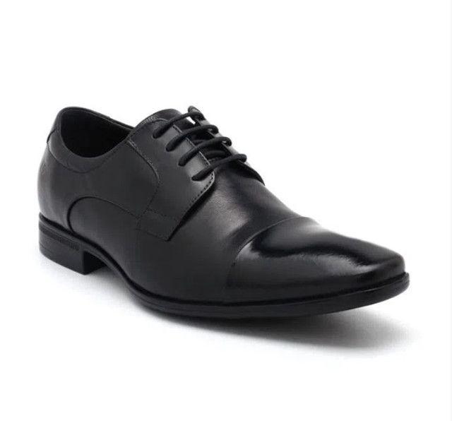 Sapato Social Masculino Democrata Air Class Nº 43 ( Novo, na Caixa)