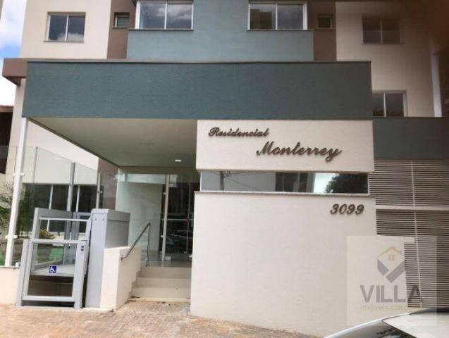 Apartamento com 2 dormitórios à venda, por R$ 355.886 - Centro - Cascavel/PR - Foto 6