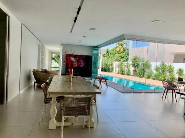 Vendo Excelente Casa LAGUNA 509 m² 4 Quartos 3 Suítes c/ Closets Piscina Aquecida Espaço G - Foto 5