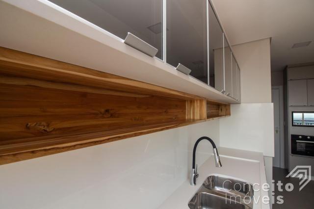 Apartamento à venda com 3 dormitórios em Jardim carvalho, Ponta grossa cod:391691.001 - Foto 12