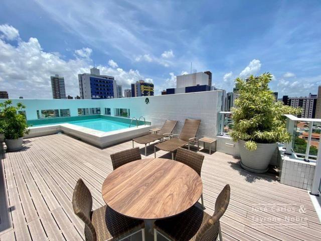 Apartamento de 1 quarto com vista para o mar - Manaira - Foto 7
