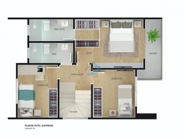 Residencial Menino Jesus - Lindos sobrados em condomínio fechado, com 3 quartos, muito bem - Foto 7