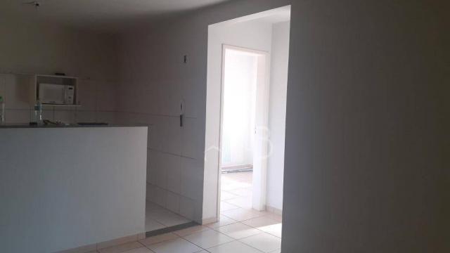 Apartamento com 2 dormitórios para alugar, 44 m² por R$ 750,00/mês - Martins - Uberlândia/ - Foto 9