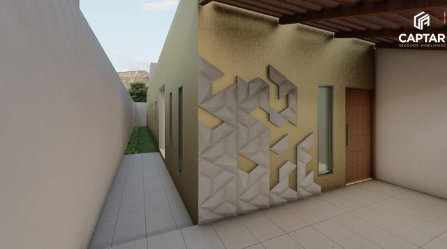 Casa à venda, com 3 quartos, sendo 1 suíte, no bairro Luiz Gonzaga em Caruaru-PE - Foto 4