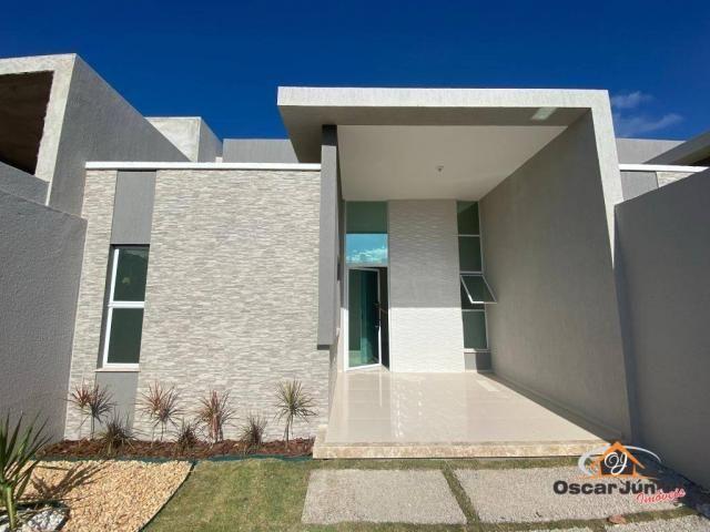 Casa com 3 dormitórios à venda, 90 m² por R$ 270.000 - Centro - Eusébio/CE - Foto 6