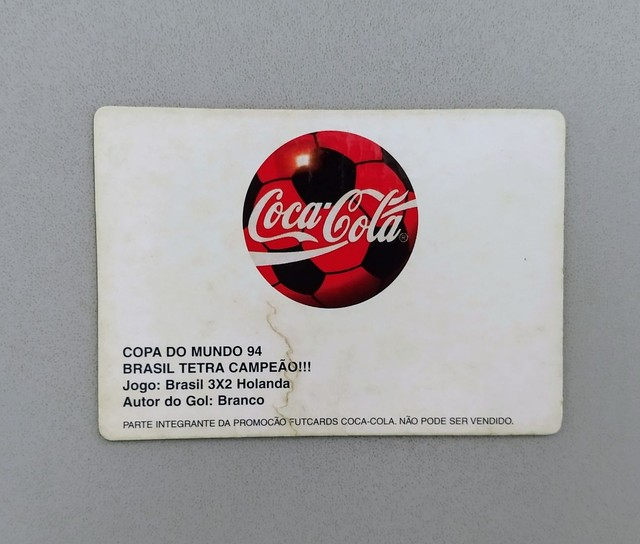 Futcards Coca Cola 1997 + Holograma - Foto 4