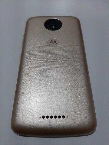 Motorola Moto C Plus 8Gb Dourado (Usado) - Foto 2