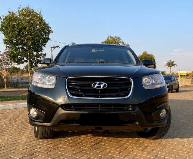Hyundai Santa Fe 2011 3.5 v6 4x4 automático - 7 lugares- Teto solar- 285cv - Foto 2