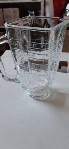 Copo Quadrado De Vidro Para Liquidificador Oster - Foto 2