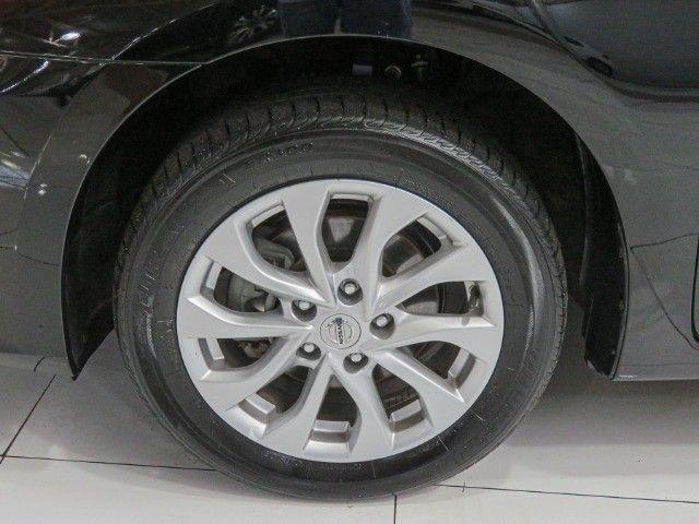 Nissan Sentra 2.0 S Flex Cambio CVT 2019 apenas 15.000 Km rodados  - Foto 8