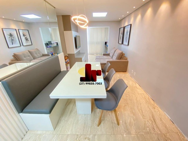 Top Apto 3 Qtos c/suite - Montado e decorado - Buritis - Foto 2