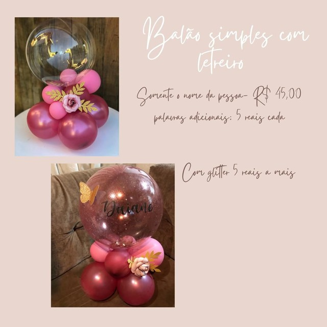 Balão bubble  - Foto 2