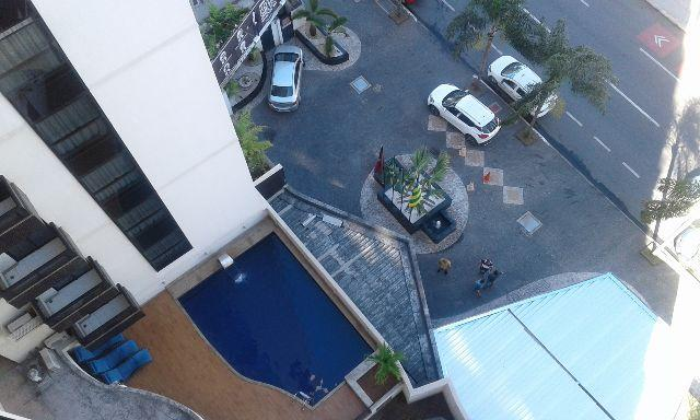 Flat Apart Hotel Vivence na praça do Sol, no setor oeste, disponível