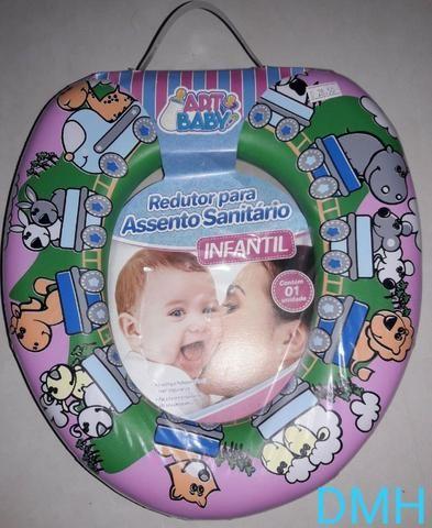 Assento Sanitário Almofadado Padrão Infantil - Foto 2