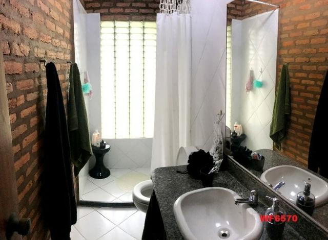Casa duplex com 4 quartos, gabinete, 5 vagas, 1.200m² terreno, próx Edilson Brasil Soares - Foto 9