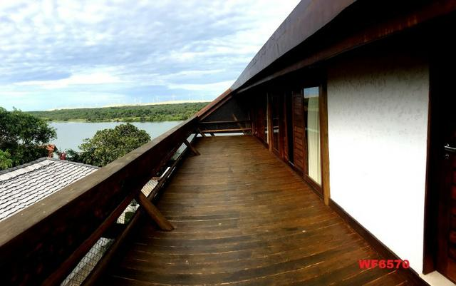 Mansão em Fortim Ceará, casa tríplex, 6 suítes, projetada e mobiliada, próximo ao Centro - Foto 5
