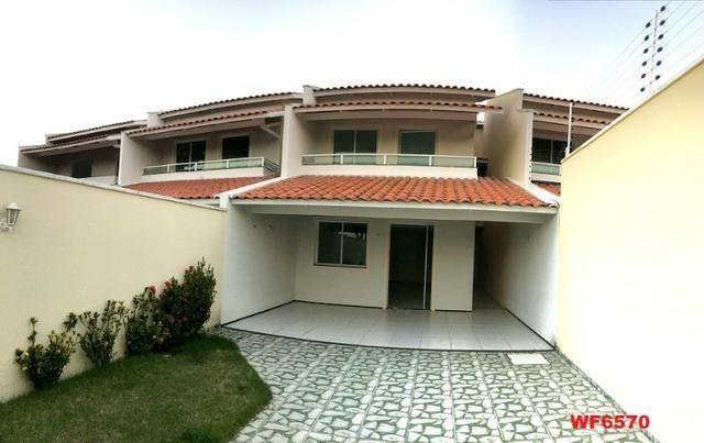Casa duplex nova com 4 suítes, 3 vagas de garagem, 170m², sala 3 ambientes, Sapiranga - Foto 9