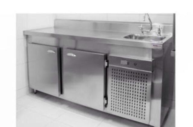 4d947d0c4 Balcao refrigerado ou freezer em aço inox escovado ou brilhante ...