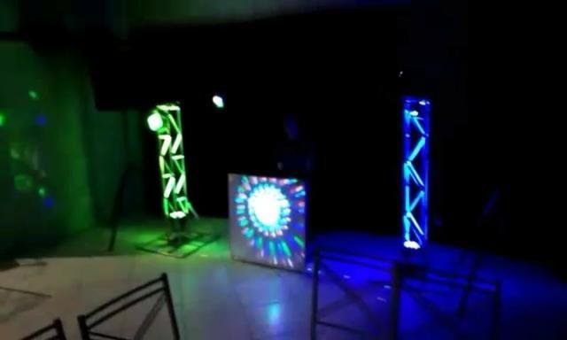 Kit som com iluminação para sua festa 200 reais - Foto 2