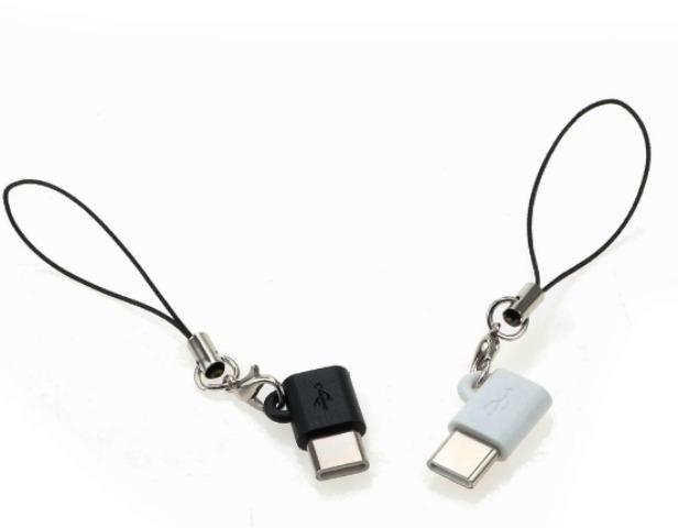 Adaptador tipo C para micro USB v8 Smartphone Com prendedor