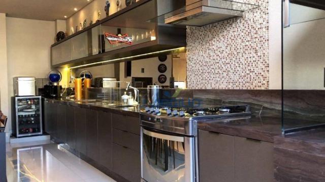 Apartamento triplex com 4 dormitórios à venda, 400 m² por r$ 1.399.000,00 - setor nova sui - Foto 4
