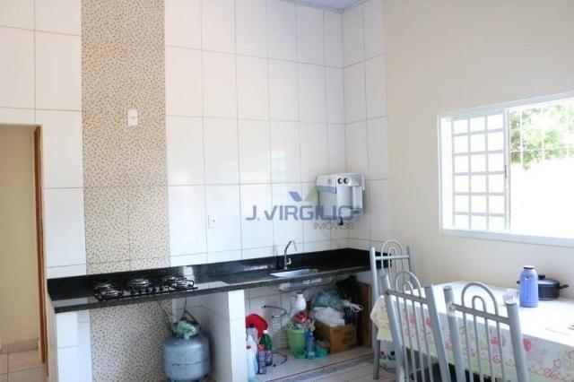 Casa com 3 dormitórios à venda, 150 m² por R$ 210.000 - Residencial Privê Norte - Goiânia/ - Foto 14