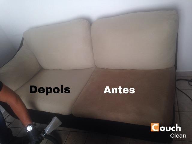 Limpeza a seco de sofá - Foto 4