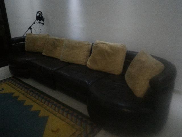 Sofá de Couro Original SEIS lugares