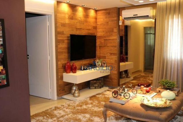Apartamento com 2 dormitórios à venda, 54 m² por r$ 180.000 - setor dos afonsos - aparecid - Foto 11