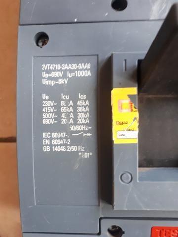 Disjuntor tripolar sem disparador de 1000A 65kA - Foto 2