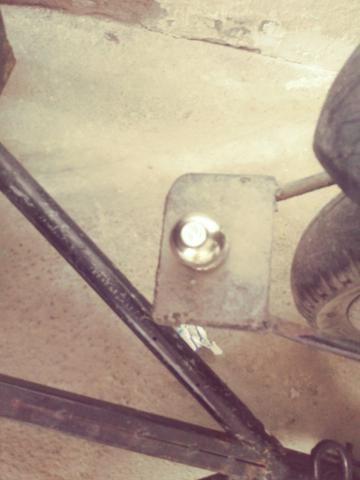 Carrocinha para moto sem molas zap * - Foto 5