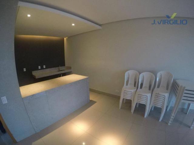 Apartamento residencial à venda, Parque Amazônia, Goiânia. - Foto 6