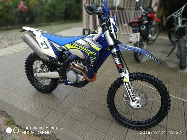 Vendo moto offroad Sherco factory ano 2014/14 - Foto 2