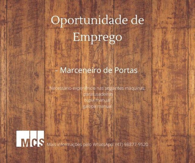 Contrata-se Marceneiro de Portas com experiência, carteira assinada - Foto 2