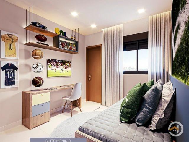 Apartamento à venda com 4 dormitórios em Setor marista, Goiânia cod:4244 - Foto 12