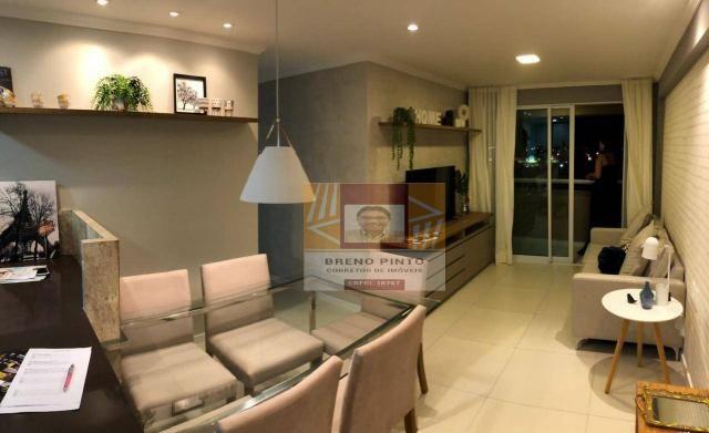 Apartamento para venda com 3 quartos e lazer completo no Guararapes - Foto 10