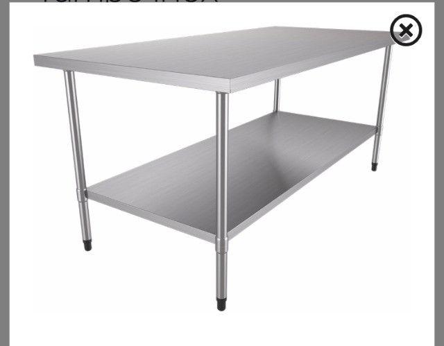 Mesas para Panificação inox / toda inox ou mista - a partir de r$ 859,00 - Foto 4