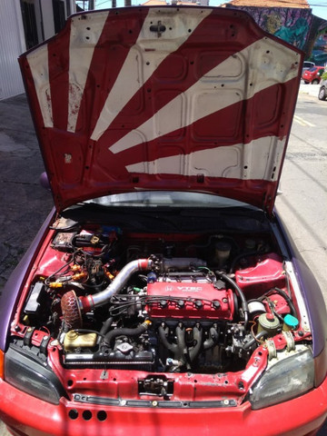 "Honda Civic Hatch ""Si"" - Foto 5"