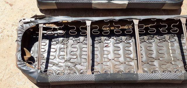 Banco  fusca vw 79 antigo sedan traseiro - Foto 4