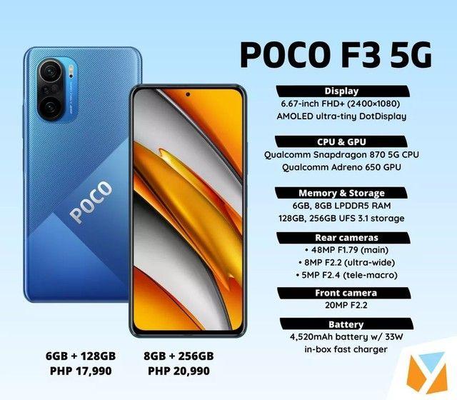 POCO F3 6/128GB - Foto 2
