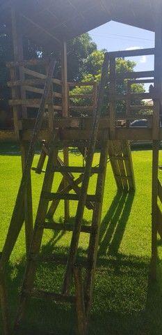 Parquinho de madeira - Foto 4