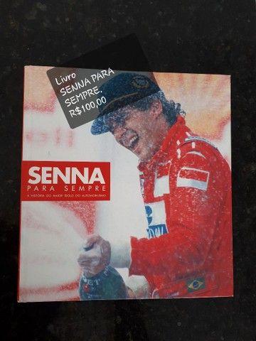 Livro Senna Para Sempre ... Baixou